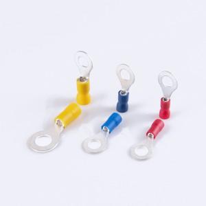 聚氯乙烯绝缘易插入环形端子
