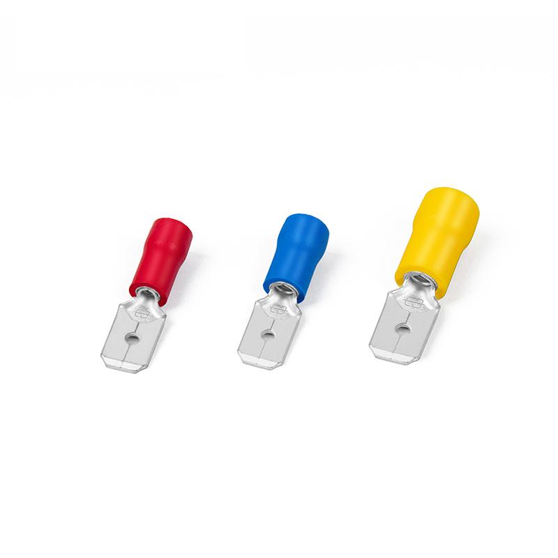 Déconnecteur mâle à double sertissage isolé en PVC Image vedette